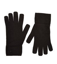 Maison Martin Margiela Knitted Button Gloves Unisex Black