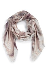Nordstrom Women's Abstract Print Cashmere And Silk Scarf