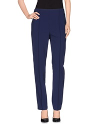 Escada Casual Pants Dark Blue