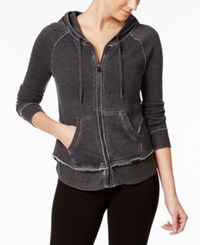 Calvin Klein Performance Layered Look Hoodie Slate Heather