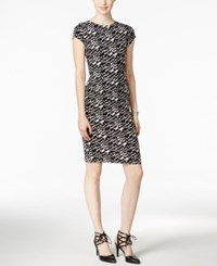 Bar Iii Chevron Print Sheath Dress Only At Macy's