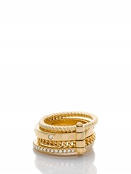 Kate Spade Infinity And Beyond Hinged Stack Ring Set