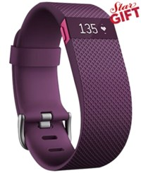 Fitbit Charge Hr Wireless Activity Wristband Plum