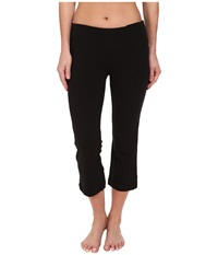 Jockey Active Slim Capri Flare Black Women's Capri