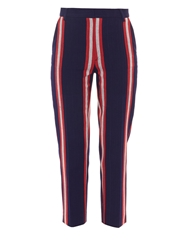 Stella Jean Beccafico Striped Trousers