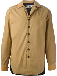 Marni Short Trench Coat Nude And Neutrals