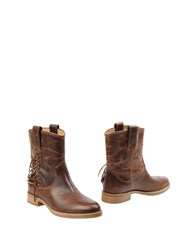 Belle By Sigerson Morrison Ankle Boots Brown