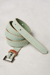 Anthropologie Junu Skinny Belt Mint