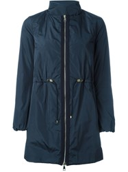 Moncler 'Cigale' Puffer Coat Blue