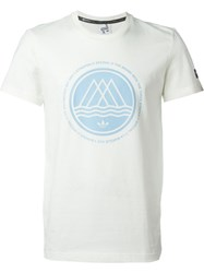 Adidas 'Summer Mod' T Shirt White