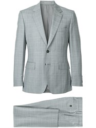 Gieves And Hawkes Two Piece Formal Suit Grey