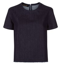 Jaeger Denim T Shirt Blue