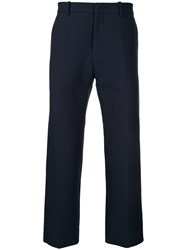 N 21 No21 Cropped Regular Trousers Blue