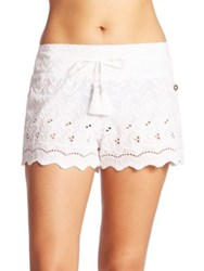Ondademar Miranda Lace Coverup White