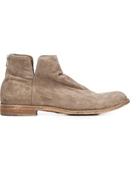 Officine Creative 'Ideal' Ankle Boots Nude And Neutrals