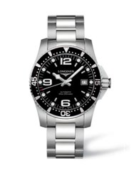 Longines Automatic Stainless Steel Bracelet Watch Black