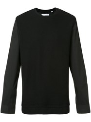 Private Stock Crew Neck Sweatshirt Black