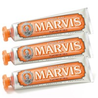 Marvis Ginger Mint Toothpaste Triple Pack 3 X 75Ml