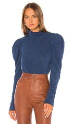 Petersyn Amy Top In Blue. Imperial