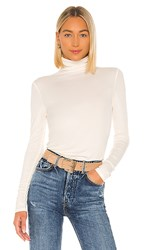 Ag Adriano Goldschmied Chels Turtleneck In Ivory. Ivory Dust