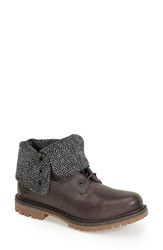 Women's Timberland 'Authentic' Fold Down Waterproof Boot Grey
