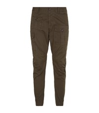 Dsquared2 Military Cargo Trousers Male Khaki