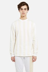 Cottweiler Long Sleeve Robe Shirt White