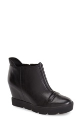 Max Studio 'Zest' Hidden Wedge Bootie Women Black