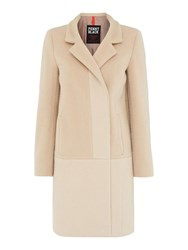 Pennyblack Aida Textured Block Colour Coat Camel