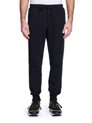 Dolce And Gabbana Gym Crown Embroidered Sweatpants Black
