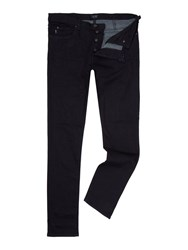 Armani Jeans J21 Regular Fit Dark Wash Denim Dark Wash