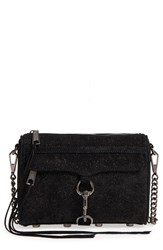 Rebecca Minkoff Mini Mac Sparkle Leather Crossbody Bag