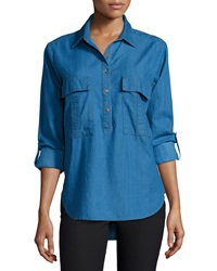Patch Pocket Denim Shirt Harold Cj By Cookie Johnson