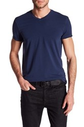 Kenneth Cole V Neck Tee Blue