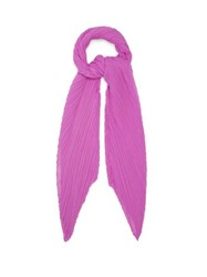Issey Miyake Pleats Please Madame T Scarf Pink
