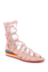 Jeffrey Campbell Burma Wedge Sandal Pink
