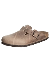 Birkenstock Boston Slippers Tabacco Brown