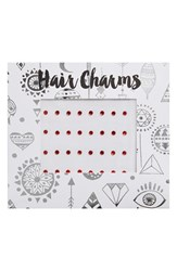 Berry Hair Charms Red
