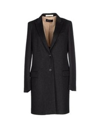 Fabrizio Lenzi Coats Steel Grey