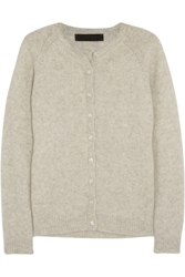 The Elder Statesman Effa Cashmere And Silk Blend Cardigan