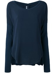 Kristensen Du Nord Long Sleeve T Shirt Blue