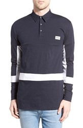 Men's Zanerobe 'Broken Flintlock' Long Sleeve Jersey Polo