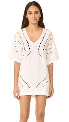 Vix Swimwear Luma Caftan Off White