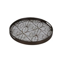 Notre Monde Geometry Glass Tray