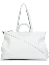 Marsell 'Orizzontale' Tote White
