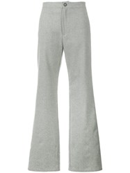 Lot 78 Lot78 Flared Trousers Grey