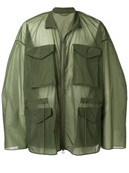 Oamc Oversized Military Jacket Green