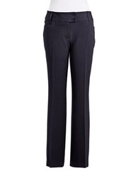 Rafaella Plus Straight Leg Dress Pants Navy
