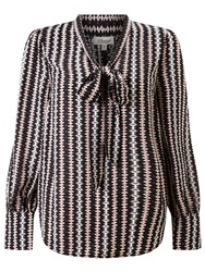 Alice By Temperley Somerset By Alice Temperley Opel Print Blouse Black Cream