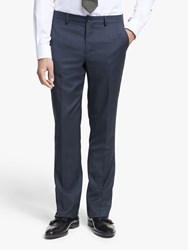 Paul Smith Prince Of Wales Check Tailored Fit Suit Trousers Navy